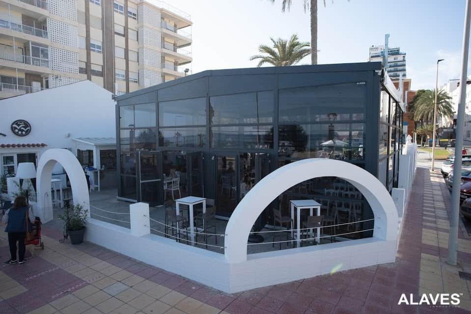 Carpa para terrazas de bares