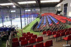 gradas para instalaciones deportivas