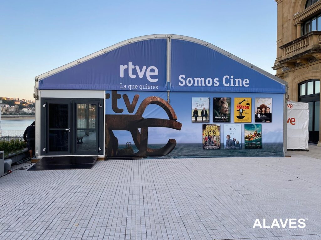 Carpa Arco Festival de San Sebastian 2021
