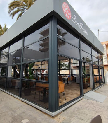 Carpa - estructura 10x10m restaurante seis perlas-ALAVES (6)