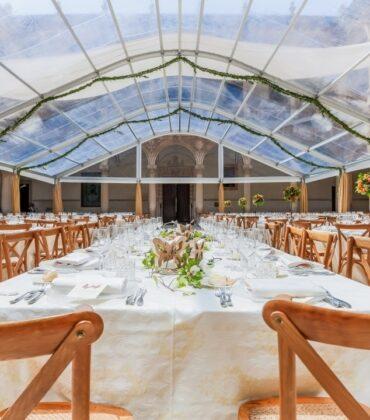 Carpas transparentes para bodas