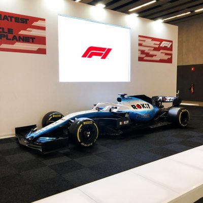 Stand-F1-Formula-one-en-Mobile-World-Congress-2019-MWC-Moontaje-de-Stands-Alaves-Innovation-2