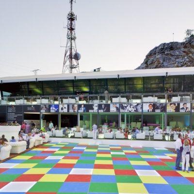 carpa doble planta Starlite Festival