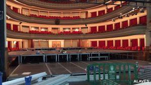 Escenarios para teatros